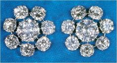 From Her Majesty's Jewel Vault: Queen Mary's Floret Earrings