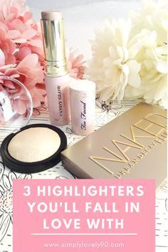 Venture into the world of highlighters with these three amazing products! Two Faced, Urban Decay, and e.l.f!