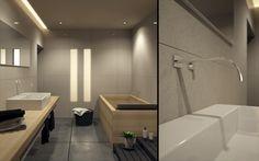 Baño en habitación de hotel