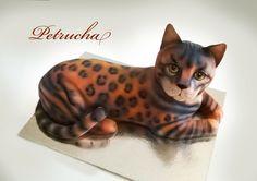 3D bengals cat cake