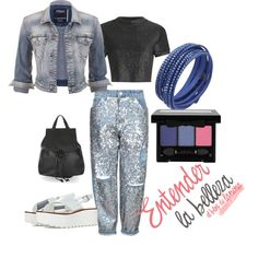 Look Denim con panta