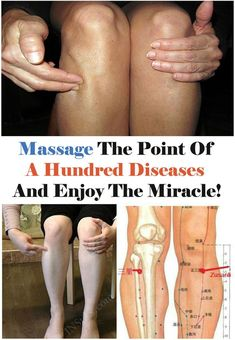 Zu San Li – A Point of a Hundred Diseases On Your Body: Here is What Will Happen if You Massage it! Zu San Li – A Point of a Hundred Diseases On Your Body: Here is What Will Happen if You Massage it! Acupressure Massage, Acupressure Treatment, Acupressure Points, Massage Tips, Self Massage, Massage Therapy, Technique Massage, Massage Techniques, Alternative Health