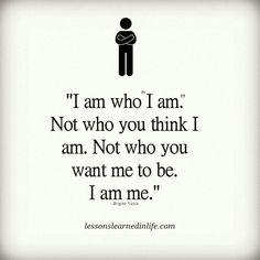 It's jus me..