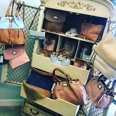 It's a perfect day to add these gorgeous pieces to your collection! This classy chic brand of purses/wallets/messenger bags/clutches/accessories will have you set for Spring/Summer! Stop by and see us for your favorites today! . . 1030-530 200 Bell Lane WM 318.884.7467 thefleurtygingerboutique.com #thefleurtygingerboutique #northlouisianasplussizeheadquarters #shoplocal #shoptfgb #happyfriday