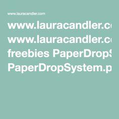 www.lauracandler.com freebies PaperDropSystem.pdf