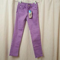 Girls Size 8 Justice Purple Jeans Super cute Justice purple jeans for girls Justice Jeans Straight Leg