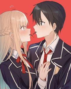Anime Cupples, Fanarts Anime, Anime Characters, Kirito Asuna, Anime Couples Drawings, Anime Couples Manga, Cute Anime Coupes, Chibi, Sword Art Online Kirito