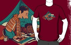 Love Community and Calvin & Hobbes? This shirt rocks! [Troy and Abed's Dope Adventures by MeganLara]