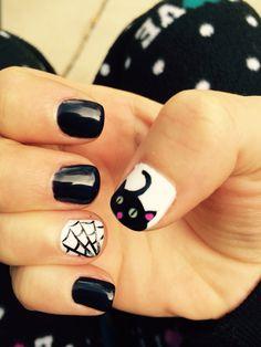Nails Halloween of 2014, Julia's.