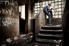 Harare, #Zimbabwe. Street children in a disused building in Harare. Many poor urban families lost their homes when Mugabe launched 'Operation Clean up the Trash' in 2005 designed to punish supporters of his political rivals. (Robin Hammond)