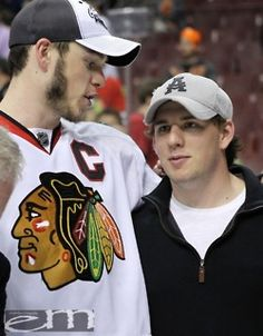 Jonathan (Chicago Blackhawks NHL) and David Toews (Rockford Icehogs AHL)