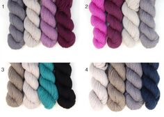 Roundabout Color Combinations for stripey cowl
