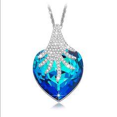 Swarovski Jewelry - Swarovski Heart Necklace