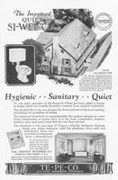 Te-Pe-Co Improved Quiet Si-Wel-Clo 1927 Ad Picture