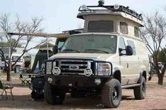 Fully equiped  Sportsmobile 4x4c camper van conversion