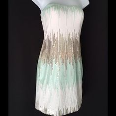 I just discovered this while shopping on Poshmark: NWOT Ombré Sequin Bodycon Dress. Check it out!  Size: M