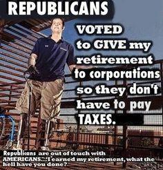 Republicans fully support war, veterans not so much.