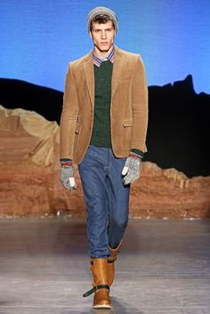 Band of Outsiders Fall 2012 Denim and texture .....very cool