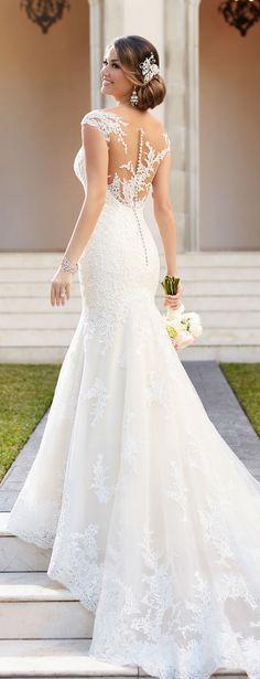 Stella York Fall 2016 Wedding Dress                                                                                                                                                      More
