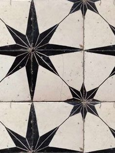 ANTIQUE Star Printed Tiles
