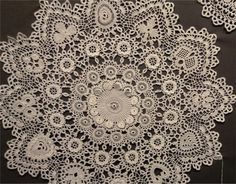 Tapestry Crochet, Doilies, Rugs, Lace, Diy, Decor, Crocheting, Placemat, Projects