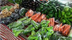Verduras e legumes nas feiras livres