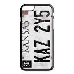 Supernatural License Plate iPhone 6S Case