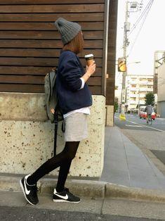 mana│Ungridのスウェットコーディネート-WEAR