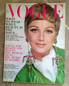 Vogue Magazine June 1967 | eBay  - check out those crazy earrings