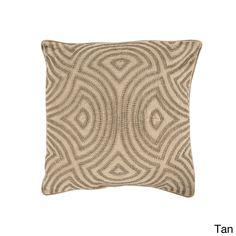 Surya Candice Olson Decorative Adriel Geometric 20-inch Throw Pillow