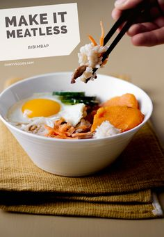 Sweet Potato Bibimbap