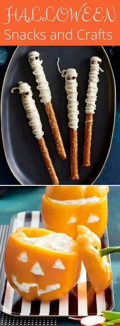 11 Halloween Snacks and Crafts Perfect for a Class Party - Celebrating Halloween at school? These ideas are perfect for a creepy-cool party in your child's classroom.