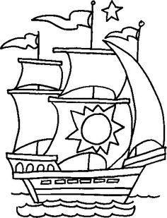 Boat coloring pages -FREE printable coloring sheets and pictures of ...