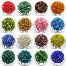 2mm Czech Seed Spacer Beads 3000pcs/Lot Mini Glass Seed Beads Diy Jewelry Making Material For Handmade Jewellery Fittings(China (Mainland))