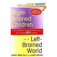 Great book for children with ADD, autism, etc. that are visual learners rather than auditory or kinesthetic.