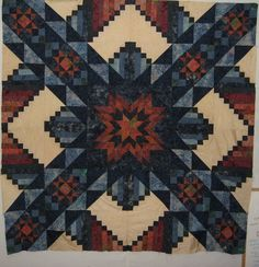 Unfinished Quilt A SouthWestern Sun by MyFinishedQuilts on Etsy, $120.00