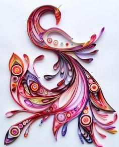 ペーパークイリングの作り方と作品集。気軽に楽しめるアートクラフト | iemo[イエモ]