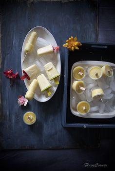 : Pineapple Yogurt Popsicles