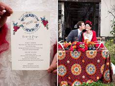 Frida Khalo Wedding Inspiration