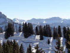 ...die Allgäuer Berge Richtung Österreich - März 2014