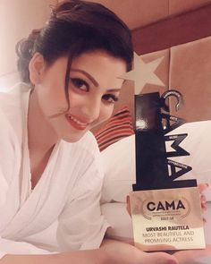 """The journey of a thousand miles begins with one step."" Thank you #CAMA Cinematics Arts Music Appreciation Awards for ""Most Beautiful & Most Promising Actress"" 2017 . I thank you all sincerely from the bottom of my heart ❤️"
