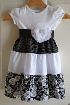 Little Quail: Little girls simple dress 4 way's. This is a sewing ...