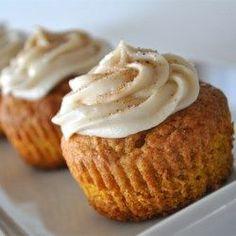 Pumpkin Spice Cupcakes - Allrecipes.com