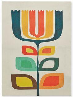 print & pattern blog: Art Print by Budi Kwan for Next.