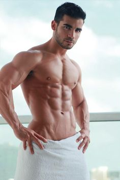 Bare sexy hunks give it all