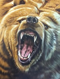 46517087_1113245512174389_6173701568840335360_n Painting Studio, Airbrush Art, Custom Paint, Art School, Gallery, Artwork, Animals, Work Of Art, Animales