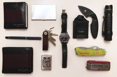 EDC in the business world  submitted by B Veer  Ted Baker Leather Card Holder  Ted Baker Leather Wallet  Certina Men's Watches DS 1 C006.407.11.051.00 - 2  TDI Law Enforcement Knife  TDI Law Enforcement Knife  Certina Men's Watches DS 1 C006.407.11.051.00 - 2  Victorinox Swiss Army Rescue Tool  Victorinox Swiss Champ Pocket Knife  MAGLITE Mag-Tac  Leather Compact Key Organizer By ThorKey - Made Of Durable Premium Quality Leather - Secure Locking Mechanism - Up To 8 Keys & Tools - Smart…