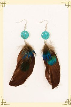 Light as a Feather Earrings - Francesca's Collections $14