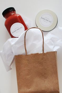 diy holiday gift / bloody mary gift set | almost makes perfect