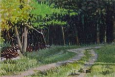 A Painting A Day Blog ~ Andy Smith: 7/1/07 - 8/1/07